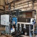 Moduł pompowy systemu chłodzenia wody technologicznej procesu rafinacji stali